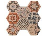 Hexagonal Astorga Beige